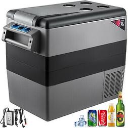 Car Fridge Freezer Cooler Mini Refrigerator 58QT Portable LG