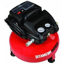 3 Gallon 100 PSO Oilless Pancake Air Compressor by CENTRAL P