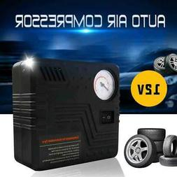 12V Portable Mini Car Auto ABS Air Compressor Electric Wheel