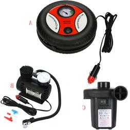 260PSI DC 12V Portable Electric Mini Tire Inflator Air Car A