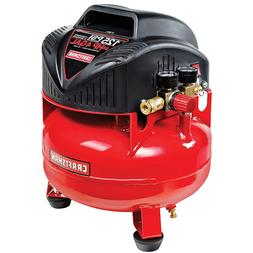 Craftsman 4 Gallon 3/4 HP Oil-Free Pancake Air Compressor 12