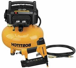 BOSTITCH Air Compressor Combo Kit with Brad Nailer 1-Tool BT