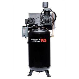 Campbell Hausfeld Air Compressor, 80-Gallon Vertical Two-Sta