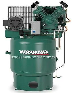 CHAMPION  3 PHASE , 7.5HP , 2 STAGE 80 GAL , AIR COMPRESSOR