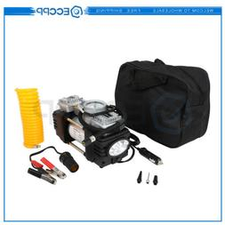 Double Cylinder Air Pump Compressor DC 12V 150PSI Heavy Duty