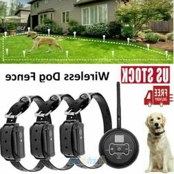 Electric Dog Fence System Waterproof Shock Collars Containme