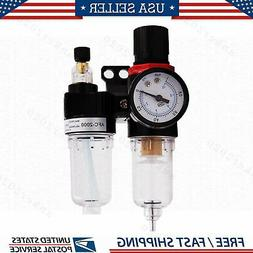 """G1/2"""" Air Compressor Filter Oil Water Separator Trap Tools W"""