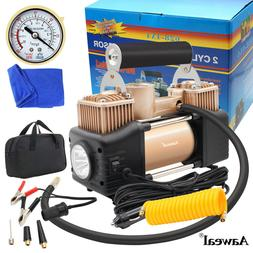 HEAVY DUTY Portable Air Compressors Car Tire Pump Inflator A