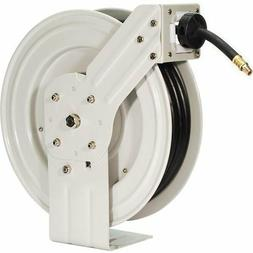 Retractable Air Rubber Hose Reel 50Ft Industrial Grade Garag