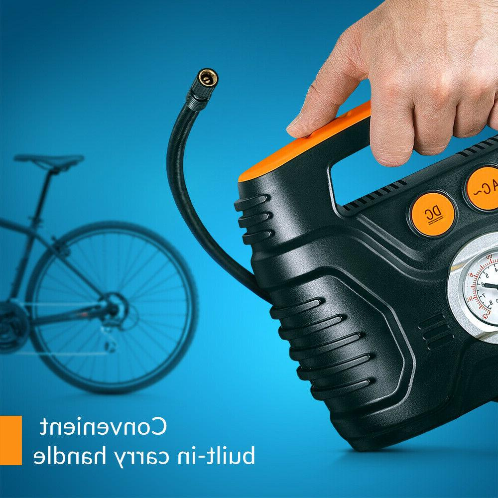 Air Car inflator analog Electric Air pump