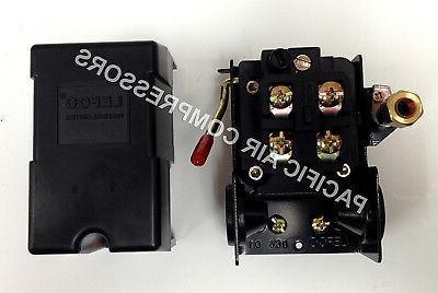 FURNAS REPLACEMENT AIR COMPRESSOR PRESSURE SWITCH. FOUR PORT