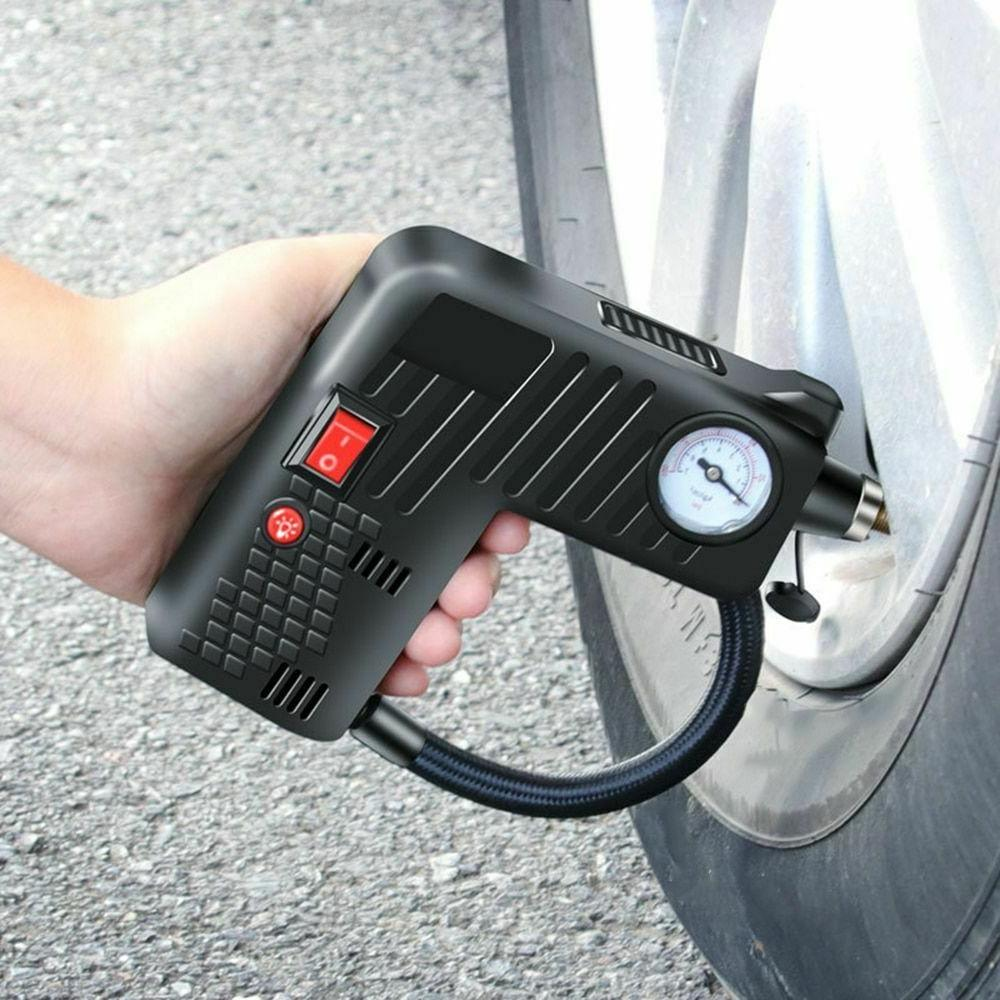 Car Air Compressor Pump Tire Inflator Electric Portable Whee