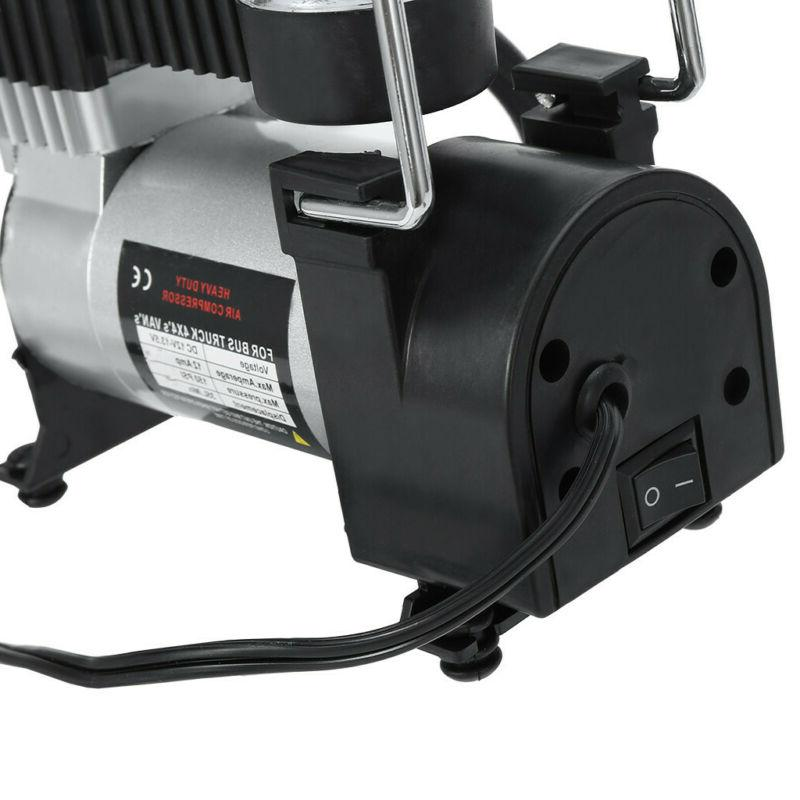 150PSI Heavy Duty Double Air Compressor Inflator