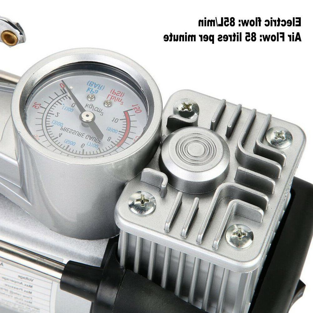 HEAVY Air Tire Inflator Double