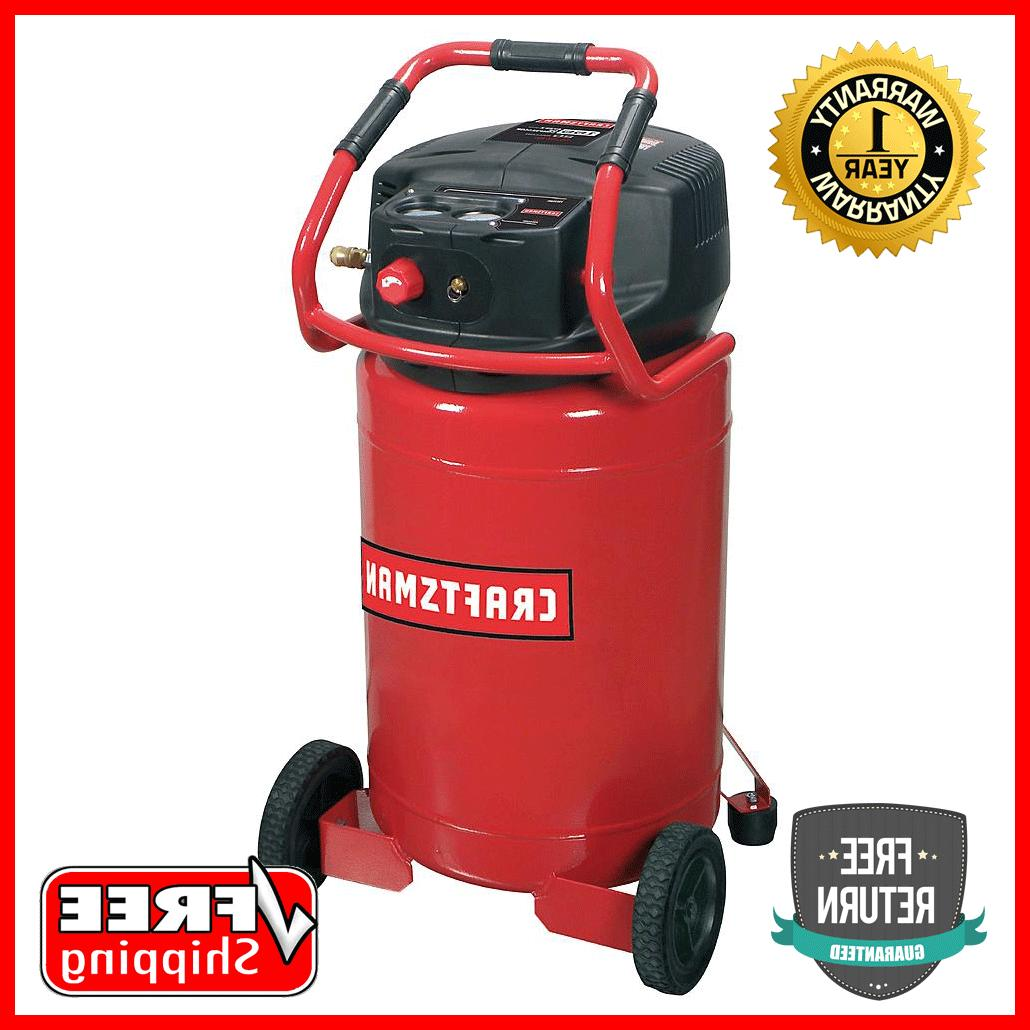 NEW Craftsman 20 Gallon 1.8 HP Vertical Oil-Free Air Compres