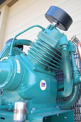 NEW 7.5hp 3 Phase Champion Compressor w/ After