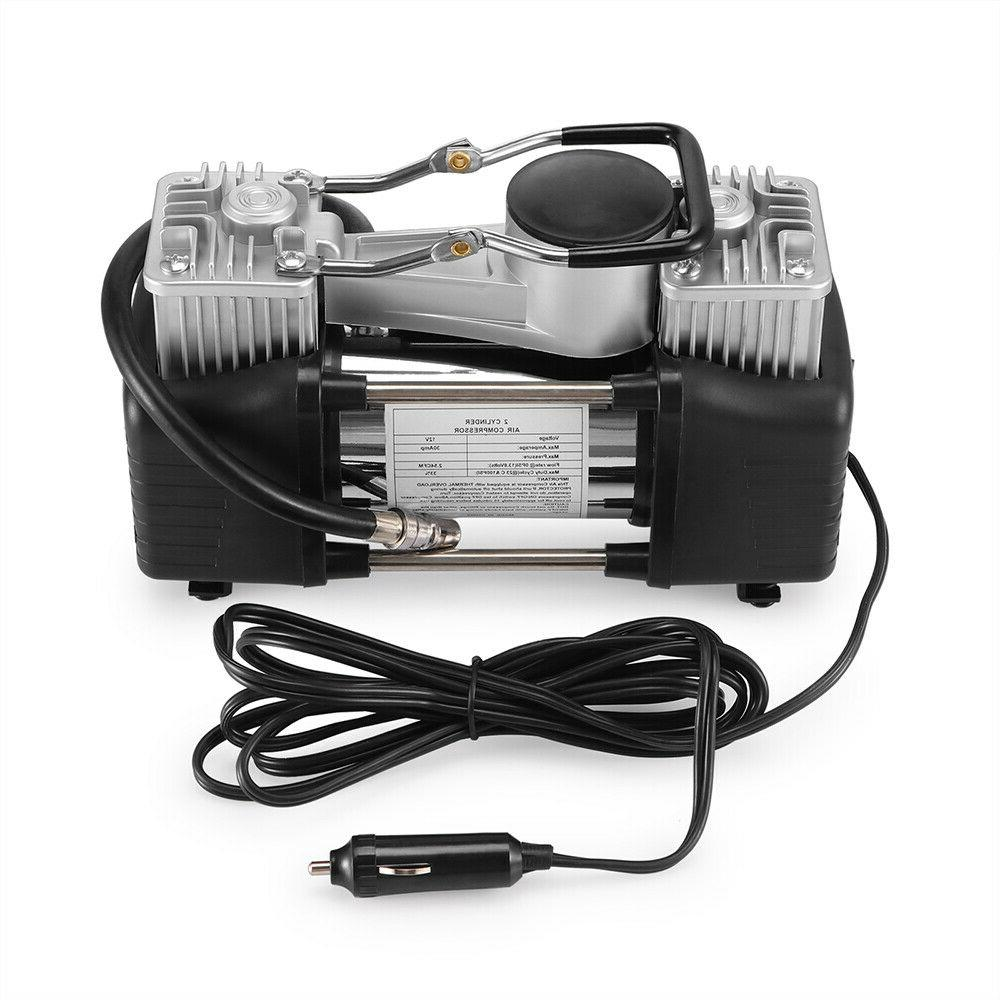 Double Cylinder Compressor DC Heavy Duty Inflator