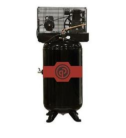 NEW CHICAGO PNEUMATIC 5 HP AIR COMPRESSOR TWO STAGE ELECTRIC