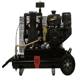 NEW CHICAGO PNEUMATIC 6 HP AIR COMPRESSOR SINGLE STAGE GASOL