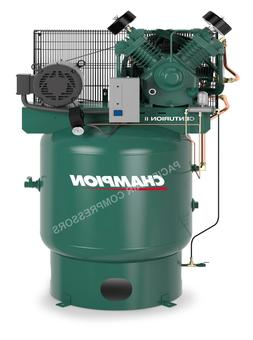 NEW 7.5hp 2 Stage 1 Phase 80Gal Vertical Champion Air Compre