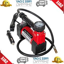 Portable Air Pump 12V Compressor Tire Inflator 140 Psi For,C