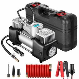 Yome Portable Dual Cylinder Air Compressor Pump, 12V