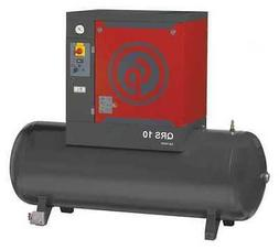 CHICAGO PNEUMATIC QRS 10 HP Rotary Screw Air Compressor,10HP