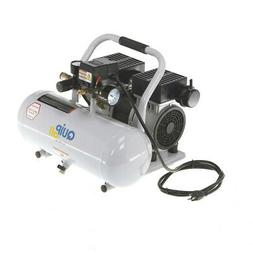 Quipall 2-1-SIL-AL Oil Free and Silent Compressor, 1.0 HP, 2
