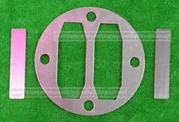 Reed valve gasket kit fits central pneumatic air compressors