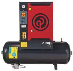 CHICAGO PNEUMATIC QRS 5 HP Rotary Screw Air Compressor,5HP,1