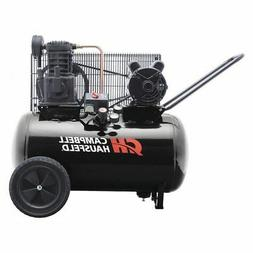 CAMPBELL HAUSFELD VT6182 Air Compressor,20 gal.,1 Stage 3.7H